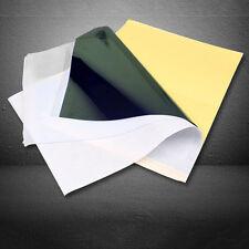 10pcs Tattoo transfer Copier paper Carbon Spirit Stencil Thermal Tracing Kit A4