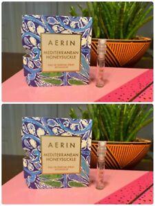 2 Aerin Mediterranean Honeysuckle Eau de Parfum Fragrance .05 oz Perfume EDP