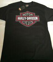 Men's Harley Davidson Dark Pink Shield Breast Cancer Williams T-Shirt Size M-3XL
