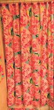 HPFI Lilly Pulitzer Shower Curtain HOTTY PINK FIRST IMPRESSION GARNET HILL BARN