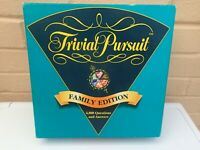 Trivial Pursuit Family Edition 1995 - 100% Complete - RARE