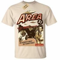 Area 51 T-Shirt Funny aliens ufo conspiracy mens tee