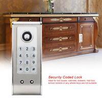 1-9 Digits Electronic Code Combination Keypad Cabinet Lock Safety Password Lock