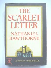 THE SCARLET LETTER by NATHANIEL HAWTHORNE MODERN LIBRARY HC w/ JACKET NOVEL NF