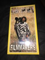 NATIONAL GEOGRAPHIC VIDEO - THE FILMMAKERS (Ⓒ1998) VHS (SEALED)