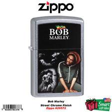 Zippo Bob Marley, Color Image, Street Chrome #29572
