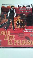 """DVD """"SOLO ANTE EL PELIGRO"""" PRECINTADA FRED ZINNERMANN GARY COOPER GRACE KELLY"""