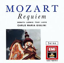 MOZART : REQUIEM - PO, GIULINI / CD - TOP-ZUSTAND