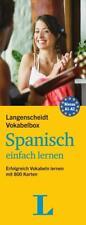 Langenscheidt Vokabelbox Spanisch einfach lernen - Box mit Karteikarten von Langenscheidt-Redaktion (2015, Set mit diversen Artikeln)
