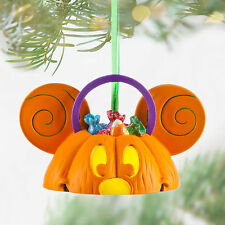 Disney Store Mickey Mouse Halloween Light Up Ear Hat Christmas Holiday Ornament