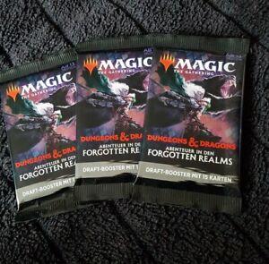 Magic the Gathering - MTG Dungeons & Dragons Booster Deutsch OVP 3 Stück