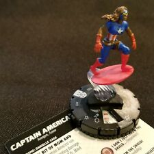 CAPTAIN AMERICA - 033 - RARE Figure Heroclix Avengers Infinity Set #33