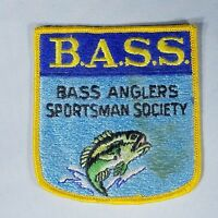 B.A.S.S. Bass Anglers Sportsman Society Patch - Embroidered Badge, Crest, Shield