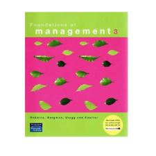Foundations of Management Robbins Bergman Stagg Coulter 3 Third Edition