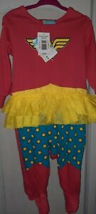 Baby Girl 9-12 month Fancy Dress Wonder Woman outfit BNWT