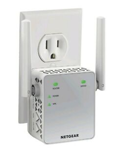 NETGEAR WiFi Range Extender AC750 EX3700 - 100NAS Coverage Up To 1000 Sq.ft NEW