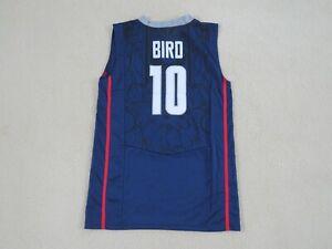 UCONN Legend #10 Sue BIRD Stitch Road Blue Jersey Men S New SWEET!