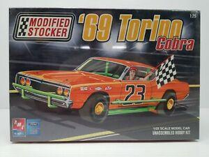 FACTORY SEALED 1969 AMT Ertl Modified Stocker '69 Torino Cobra #21691P Ford