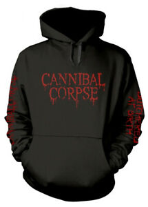 Cannibal Corpse 'Butchered At Birth Explicit' Pull Over Hoodie - NEW