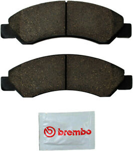 Disc Brake Pad Set-Brembo Front WD Express 520 13630 253