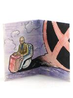 2012 Marvel Premier Professor Xavier Sketch Card Upper Deck X-Men Hinge 1/1