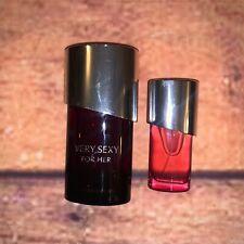 Victorias Secret Very Sexy & Very Sexy 2 Perfumes 1 Oz/.25 Full Bottles