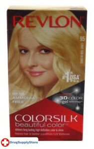BL Revlon Colorsilk #95 Light Sun Blonde - Two PACK