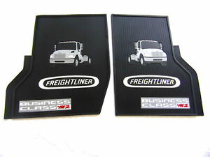 OEM Freightliner Business Class M2 Rubber All-Weather OEM Floor Mats, USA Made