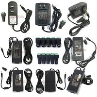 Power Supply Adapter AC To DC 12V 2/3A/4A/5A/6A/8A/10A 3528 5050 LED Strip Light
