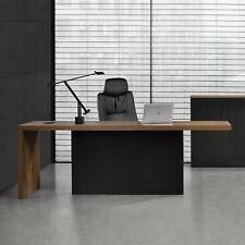 Repräsentativer Schreibtisch 220cm Chefzimmer Büromöbel Managerschreibtisch