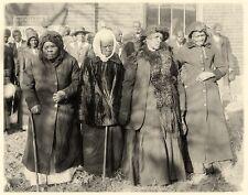 Civil War Former Freed Slaves Black African American Negro Women 1916 Photo