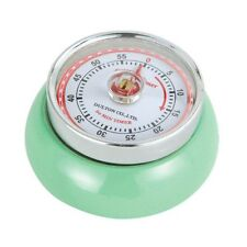 "Zassenhaus Retro Collection ""Speed"" Magnetic Kitchen Timer - Mint Green"