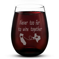 Wine Glasses 15oz Round Glass Letter Pattern Wine Glass for Party Bar Kitchen
