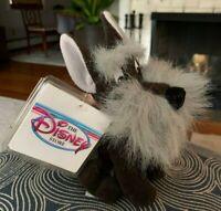 NEW Disney JOCK Lady And The Tramp Beanie Plush Stuffed Dog NWT Vintage 1990s