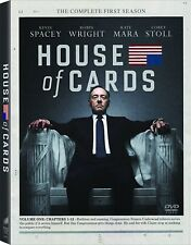 House of Cards: The Complete First Season 1 (DVD, 2013, 4-Disc Set) Brand New
