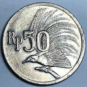 # C4496     INDONESIA     COIN,     50  RUPIAH   1971