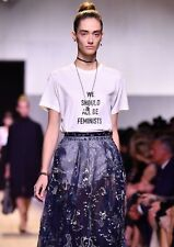 "AUTHENTIC DIOR T SHIRT ""WE SHOULD ALL BE FEMINISTS"" NEW WITH TAGS SIZE XS 2018"