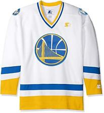 Starter NBA Golden State Warriors Hockey Inspired Jersey White XL NWT
