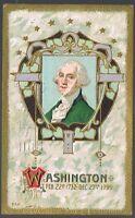 Vintage 1912 Washington's Birthday 1732-1799 Postcard No. 564
