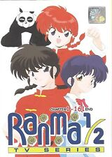 DVD RANMA 1/2 Complete TV Series Episode 1-161 End ( ENGLISH VERSION ) Anime
