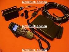 AUDI Nokia 6090 Autotelefon Festeinbau Freisprechanlage ! AUDI Hörer blau/rot