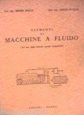 ELEMENTI DI MACCHINE A FLUIDO Roberto Breglia Ernesto De Felice Liguori Tecnica