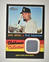 2020 Heritage High Number Clubhouse Collection Relic #CCR-JAB Jose Abreu