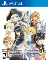 PLAYSTATION 4 PS4 VIDEO GAME TALES OF VESPERIA DEFINITIVE EDITION BRAND NEW