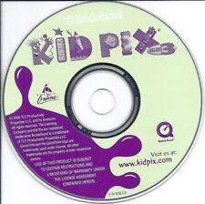 Kid Pix Cd - fun learn for kids children on art drawing etc