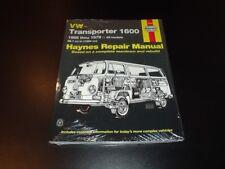 Haynes VW CAMPERVAN KOMBI CARAVELLE WESTFALIA MICROBUS Manual Owners Handbook