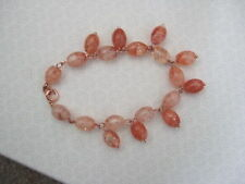 Handmade Rose Gold Plated Chain/Link Costume Bracelets