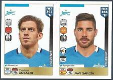 PANINI-2016 FIFA 365- #740-741-ZENIT SAINT PETERSBURG-C ANSALDI-JAVI GARCIA