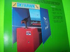 Nintendo SKY HAWK Original 1976 NOS Projection Arcade Game Promo Sales Flyer