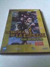 "DVD ""LA ODISEA DE LA ESPECIE SERIE DOCUMENTAL COMPLETA"" PRECINITADO SEALED"